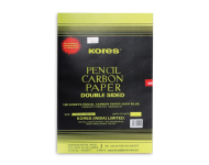 Kores - 210x330 mm Double Sided Blue Pencil Carbon Paper