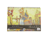 Nightingale - A4 Premium Canvas Sketch Pad Spiral