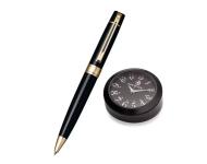 Sheaffer A 9325 - Black Gift Set Stainless Steel Ballpoint Pen