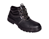 Coogar 014 - Black Safety Shoes with Steel Toe
