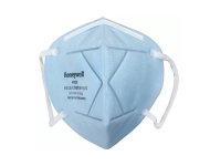 Honeywell E D7002 BU10 IND - Pack of 10, Icy Blue Anti Pollution Foldable Face Mask