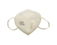 Honeywell E D7051V WH IND 5 - Box of 5, White Anti Pollution Foldable Face Mask with Easy Exhalation Valve