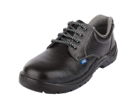 Allen Cooper AC 7002 - Grey and Black Safety Shoes