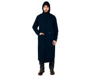 Mallcom Cumulus - Navy Blue PU Raincoat