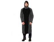 Mallcom Mammatus - Grey and Black Breathable PU Raincoat