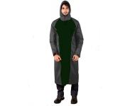 Mallcom Mammatus - Grey and Green Breathable PU Raincoat