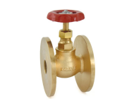 Zoloto 1003 - 20 mm Number 8 Bronze Flanged Globe Valve