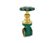 Zoloto 1006 - 50 mm Hexagonal Type, Bronze Screwed Gate Valve