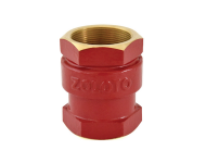 Zoloto 1009 - 32 mm Bronze Screwed Vertical Check Valve