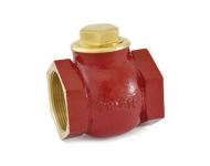 Zoloto 1010 - 15 mm Bronze Screwed Horizontal Check Valve