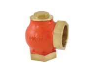 Zoloto 1010A - 50 mm Bronze Screwed Angle Type Lift Check Valve