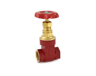 Zoloto 1035A - 20 mm Bronze Screwed Gate Valve