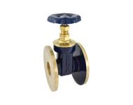 Zoloto 1036 - 50 mm Bronze Flanged Gate Valve