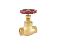 Zoloto 1041 - 50 mm Bronze Screwed Globe Steam Stop Valve