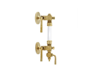 Zoloto 1048 - 15 mm Bronze Flanged Asbestos Packed Water Level Gauge