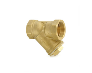 Zoloto 1053A - 40 mm Y Type, Forged Brass Screwed Strainer