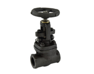 Zoloto 1075A - 10 mm Class 800 Forged Steel Full Bore Gate Valve
