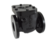 Zoloto 1083 - 250 mm PN 1 Cast Iron Flanged Non Return Valve
