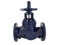 Zoloto 1087A - 150 mm Cast Iron Flanged Double Regulating Balancing Valve with Nozzle