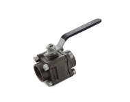 Zoloto 1088 - 32 mm Class 150 Cast Steel Screwed Three Piece Design Ball Valve
