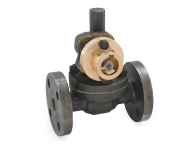 Zoloto 1092 - 50 mm Cast Steel Flanged Parallel Slide Blow Off Valve