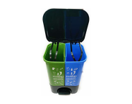 Kleeno - 20 litres Duo Wet and Dry Dustbin