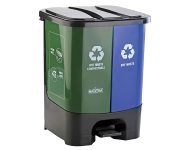 Kleeno - 35 litres Duo Wet and Dry Dustbin
