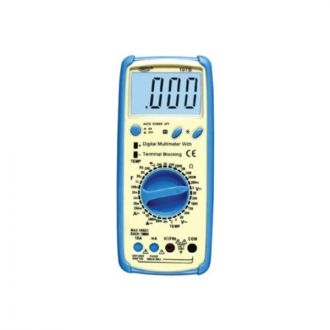 Waco 19TB - 200 M Ohm Large Screen Digital Multimeter with Terminal Blocking System