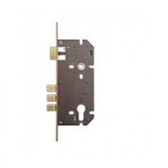 Godrej 7738 - 240 mm Brass Euro Profile 3 Bolt Lock Body