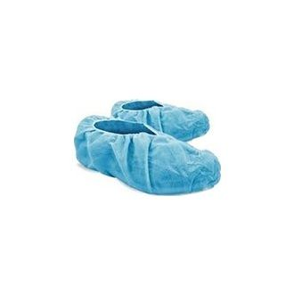 Nova Safe Blue Colour Disposable Shoe Cover - It is made up of superior quality. It keeps the shoes clean and dry in the rainy season. It is hygienic to use both indoors and outdoors. It is made up of waterproof elastic, disposable material. Thus, it is suitable for use and throws applications. It comes with a universal fitting and heat sealing feature. It is suitable for multi-purpose usage and multi-environment. It prevents cross-contamination. It has a non-skid and non-slip feature. It is used for maintaining hygiene.