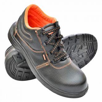 Hillson - Black Beston Safety Shoes