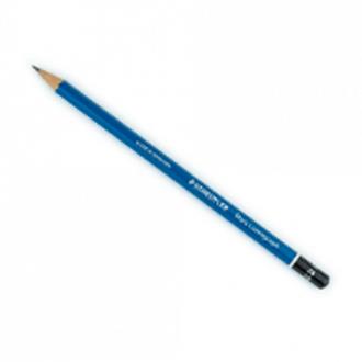 Staedtler 100B 4B - Mars Lumograph Black Artists Pencil