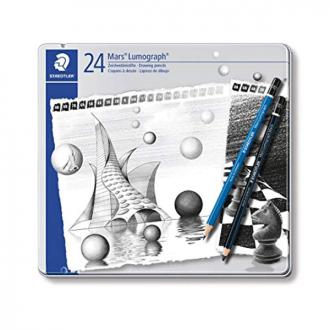 Staedtler 100 G 24S - Lumograph Artists Pencil