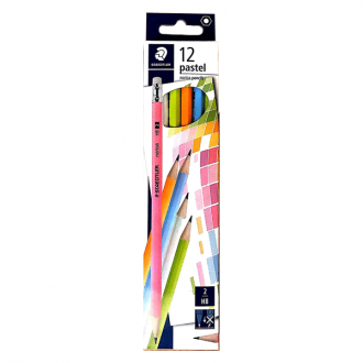 Staedtler 132 43 HB C12 - Norica Pastel Body Colour Pencil
