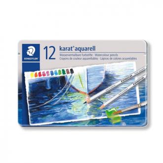 Staedtler 125 M 12 - Set of 12 Colours Karat Aquarell Pencil