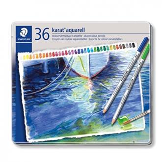 Staedtler 125 M 36 - Set of 36 Colours Karat Aquarell Pencil