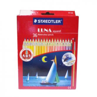 Staedtler 136 C36 - Set of 36 Colours Luna Colour Pencil Permanent