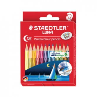 Staedtler 137 10 C12 Classic - Set of 12 Colours Luna Classic Water Colour Pencil