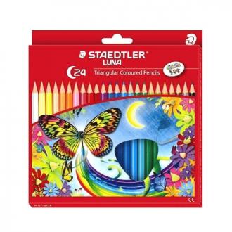 Staedtler 138 C24 - Luna School Triangular Colour Pencil