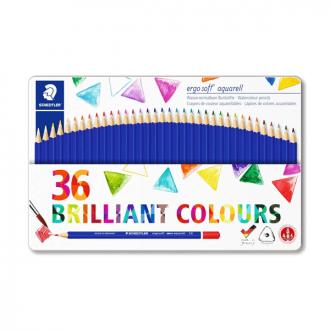 Staedtler 156 M36 - Set of 36 Colours Ergo Soft Water Colour Pencil