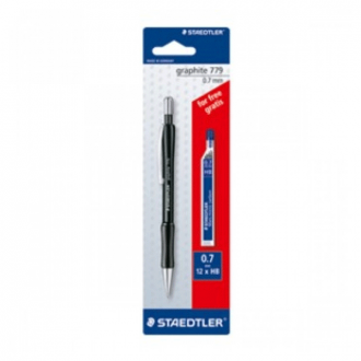 Staedtler 779 7 ABK25D - 0.7 mm with 1 Pack Lead and Graphite Mechanical Pencil