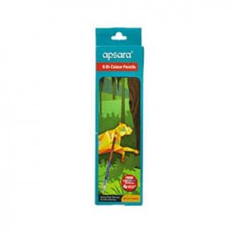 Apsara - 9 Bi Colour Pencils