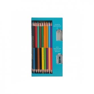 Apsara F/S - 18 Bi Colour Pencils