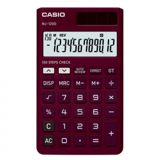 Casio NJ 120D - 12 Digit Portable Basic Calculator