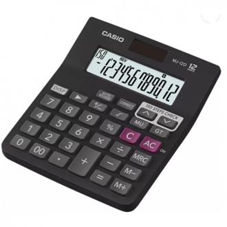 Casio MJ 12D - 12 Digit Desktop Basic Calculator