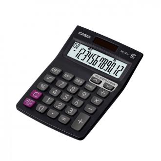Casio MJ 12SA - 12 Digit Desktop Basic Calculator
