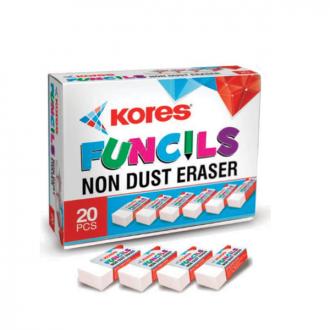 Kores - 20 pieces Funcil Eraser Box