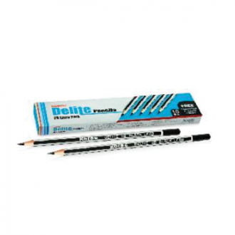 Kores - 10 pieces of Delite HB Extra Dark Pencil Packets