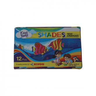 Kores - 12 Shades kool Toolz Wax Crayons