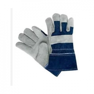 Sai Safety SSWW461 - Medium Jeans Palm Leather Gloves